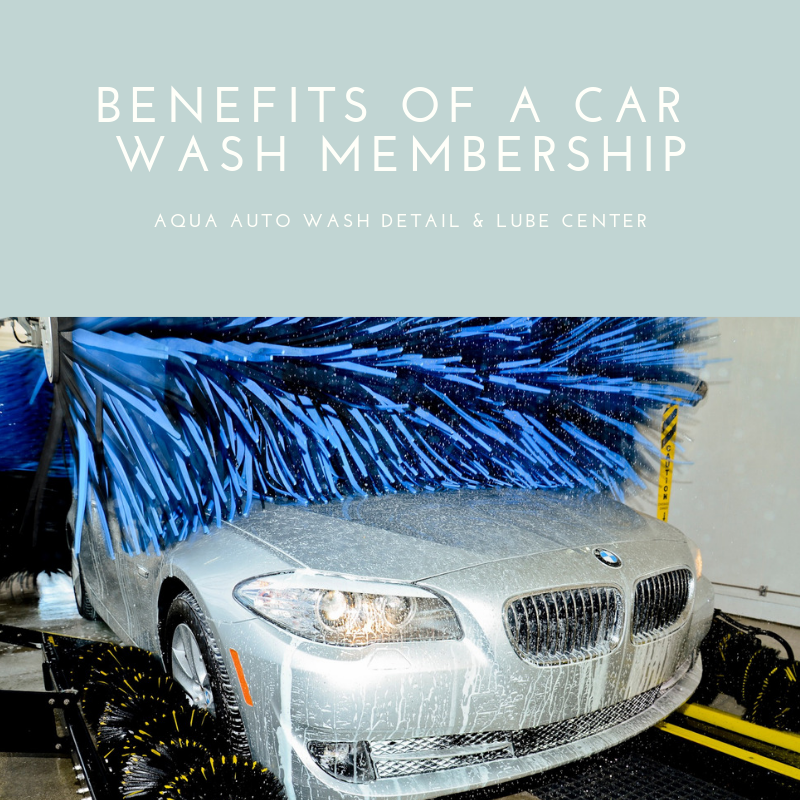 Copy of Aqua - Benefits of a car wash membership